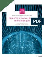 Explorer la Convergence bionumerique