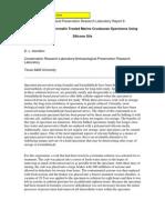 Wayne, C. y Hamilton, D.L. Consolidation Formalin Treated Marine Crustacean Using Silicone Oilsf