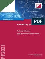 PowerFactory TechRef_PV