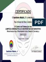certificado-LIMPEZA ENERGÉTICA
