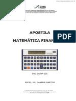 [Cliqueapostilas.com.Br] Apostila Matematica Financeira