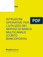 Istr Operative Banca Multicanale Contobp