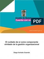 CUIDADO DE SÍ COMO COMPONENTE OLVIDADO GESTIÓN ORGLABORAL