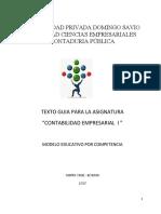 TEXTO GUIA DE CONTABILIDAD EMPRESARIAL I