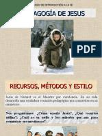 PEDAGOGÍA DE JESÚS