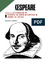 William Shakespeare - Opere Complete Vol.8 - Furtuna - Henric al VIII-lea  3 - V1.0