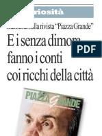 """08.03.11repubblica. Piazza Grande """"Roba da ricchi"""""""