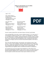 Letter From 24 State AGs Re DC Statehood