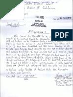 Byrd Affidavit