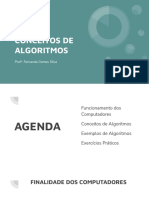Conceitos de Algoritimo