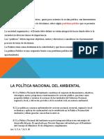 5 POLITICA NACIONAL DEL AMBIENTE