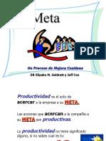 Resumen Libro  La Meta (Cell Leader & Utilities)