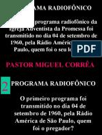 História da Igreja Adventista da Promessa - Convenções da Fumap