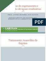 SETAR_Tratamento de Esgotos_Tratamento anaeróbio