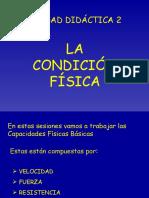 LA CONDICIÓN FÍSICA