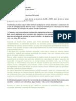 Trabalho 1 - Química Ambiental UFRJ
