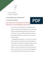 Guia para elaboración planteamiento del problema, Objetivos y Justificación. Taller 1-Uladech