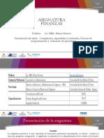 Finanzas Unidad I - 2021