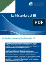 Presentation Historia del IB en español