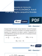 Planejamento Aula 6 ENG ECONOMICA 2020.2