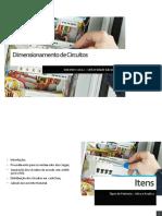Aula 4 - Dimensionamento de Circuitos elétricos