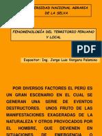 Fenomenlogia Del Perú y Tingo Maria Xx