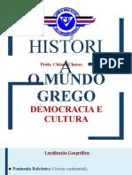 HISTÓRIA - O MUNDO GREGO