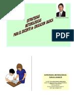 ESTRATEGIAS METODOLOGICAS PARA EDUCACION BASICA