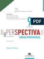 Colecao Perspectiva Lingua Portuguesa 9º Ano Ensino Fundamental II