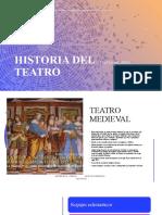 Historia Del Teatro _ Teatro Medieval
