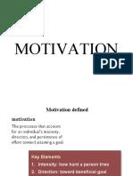 8. Motivation