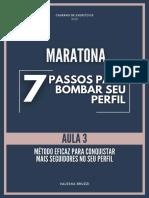 Caderno Maratona Aula 3