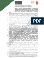 NORMAS DE CONVIVENCIA INSTITUCIONAL 2021