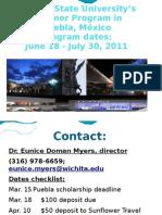 Final Version WSU Puebla Program