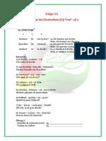 21 Satzbau (2)