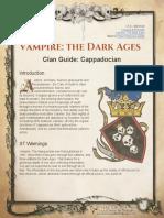 Cappadocian Clan Guide