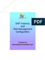 Treasury and Risk Mgmt Config Preview