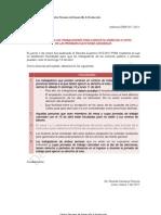 Votaciòn de Trabajadores en Pròximas Elecciones 2011 - Facilidades