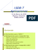 3 ISDB-T Application Spanish