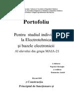 Portofoliul ( Electrotehnica )