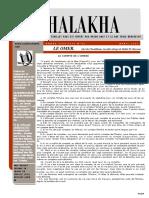 halakha 43 le Omer