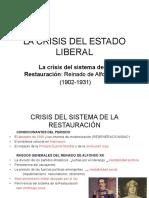 11 La Crisis Del Estado Liberal t. 11.Ppt