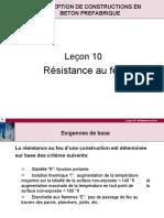 10 - Resistance Au Feu