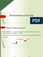 6. Measurements and Units
