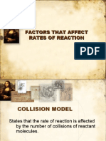 7. Factors Affecting the Rate of Chemical Reacction