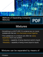 4. Methods of Separating Components of Mixtures