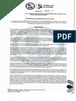 Decreto de Urgencia Manifiesta 1