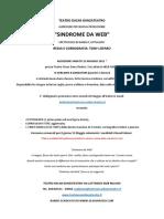 Audizione Sindrome WEB 2021