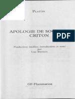Apologie de Socrate – Criton ( PDFDrive )
