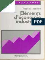 élément d'économie industrielle